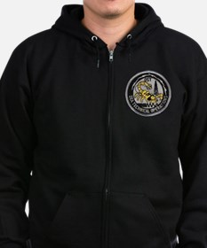 Cool Drugs Zip Hoodie (dark)