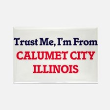 Trust Me, I'm from Calumet City Illinois Magnets