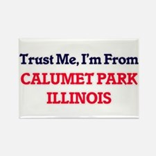 Trust Me, I'm from Calumet Park Illinois Magnets