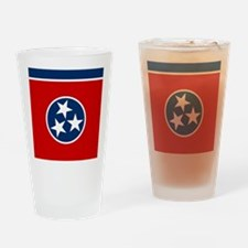Cute Blue star mothers flag Drinking Glass