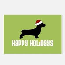 "W. Doxie ""Santa Hat"" Postcards (Package of 8)"