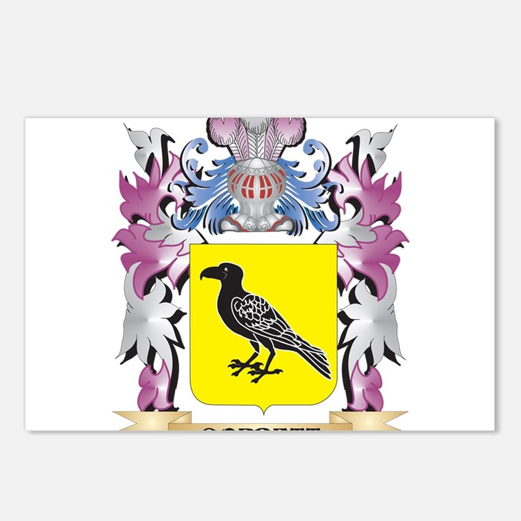 Corbett Coat of Arms (Fam Postcards (Package of 8)