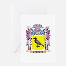 Corbett Coat of Arms (Family Crest) Greeting Cards