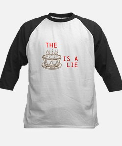 The Cake is a lie. Baseball Jersey