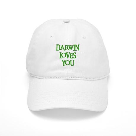 Darwin Loves You Cap