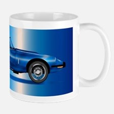 Sleak British Sports Car Mugs