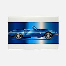 Sleak British Sports Car Magnets