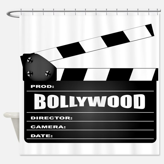 Bollywood Clapperboard Shower Curtain