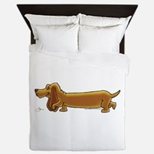 NEW! Weiner Dog Queen Duvet