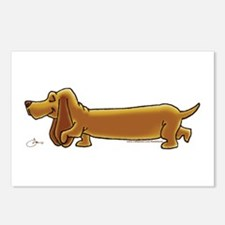 NEW! Weiner Dog Postcards (Package of 8)