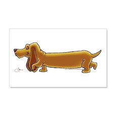 NEW! Weiner Dog Wall Sticker