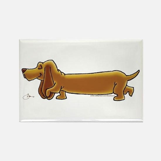 NEW! Weiner Dog Rectangle Magnet