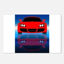 Fast Car Front End Postcards (Package of 8)