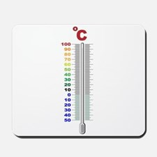 A Temperature Thermometer Mousepad