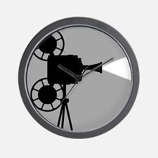 Movie Cine Projector The End Wall Clock