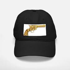 Golden Six Gun Baseball Hat