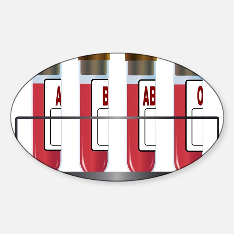 Blood Group Samples Decal