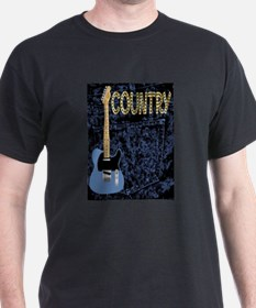 Country Pickin Guitar Poster T-Shirt