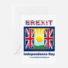 BREXIT Greeting Cards