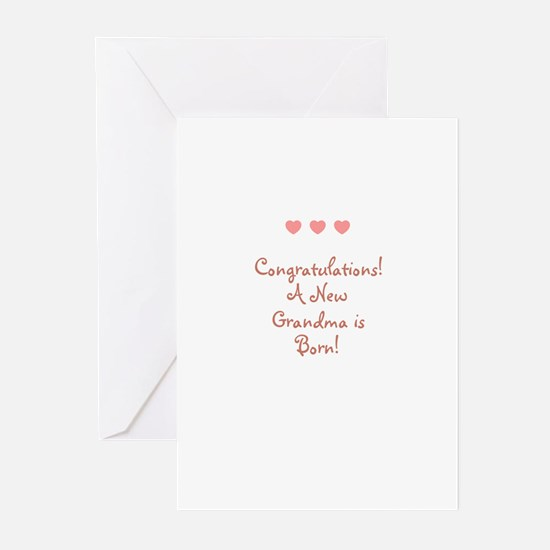 Congratulations! A New Grandm Greeting Cards (Pk o