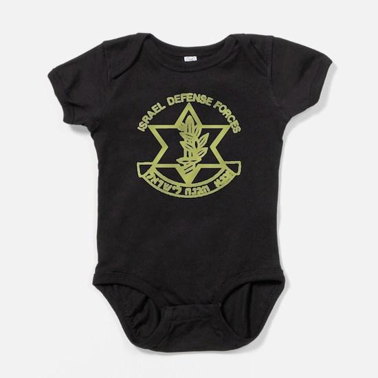 Unique Israel defense Baby Bodysuit