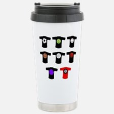 Sport Ball T Shirt Travel Mug