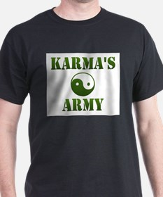 Karma's Army Ash Grey T-Shirt