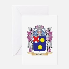 Cosby Coat of Arms (Family Crest) Greeting Cards