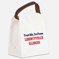Trust Me, I'm from Libertyville I Canvas Lunch Bag