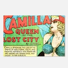 Unique Camilla Postcards (Package of 8)