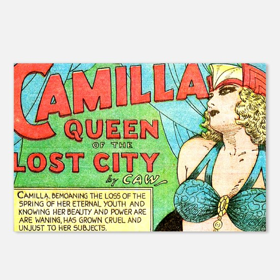 Camilla Postcards (Package of 8)