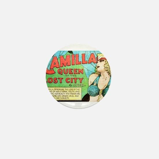 Camilla: Queen of the Lost City Mini Button