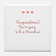 Congratulations! You're going Tile Coaster