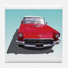 Cute Thunderbird Tile Coaster
