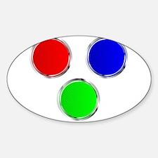 Round RGB Web Icons Decal