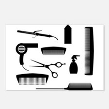 Salon Tools Postcards (Package of 8)