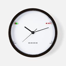 Viewfinder View Wall Clock