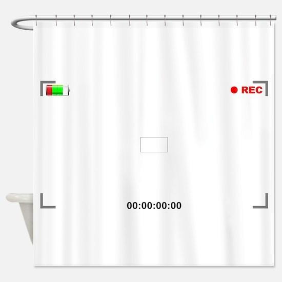 Viewfinder View Shower Curtain