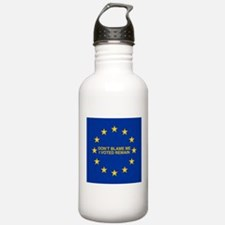 Don't blame me I voted Water Bottle