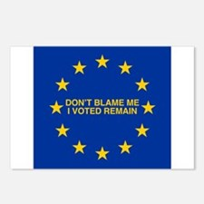 Don't blame me I voted Re Postcards (Package of 8)