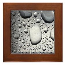 Puddles #1 Framed Tile