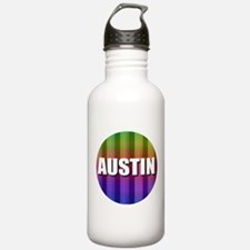Austin Rainbow Water Bottle