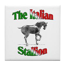 The Italian Stallion Tile Coaster