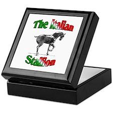 The Italian Stallion Keepsake Box