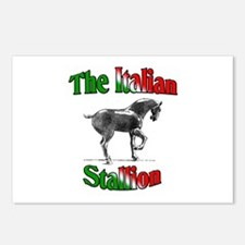 The Italian Stallion Postcards (Package of 8)