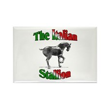 The Italian Stallion Rectangle Magnet