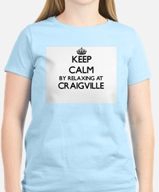 Keep calm by relaxing at Craigville Massac T-Shirt