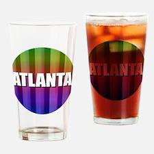 Atlanta Rainbow Drinking Glass