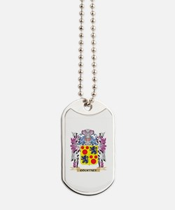 Courtney Coat of Arms (Family Crest) Dog Tags