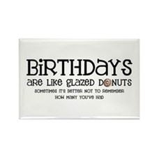 Glazed Donuts Rectangle Magnet